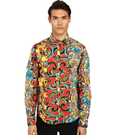 Versace Jeans - Tattooed Baroque Button Up