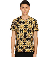 Versace Jeans - Baroque Medallion Print Short Sleeve T-Shirt