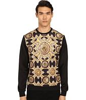 Versace Jeans - Baroque Medallion Print Sweatshirt