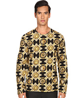 Versace Jeans - Baroque Medallion Print Long Sleeve T-Shirt