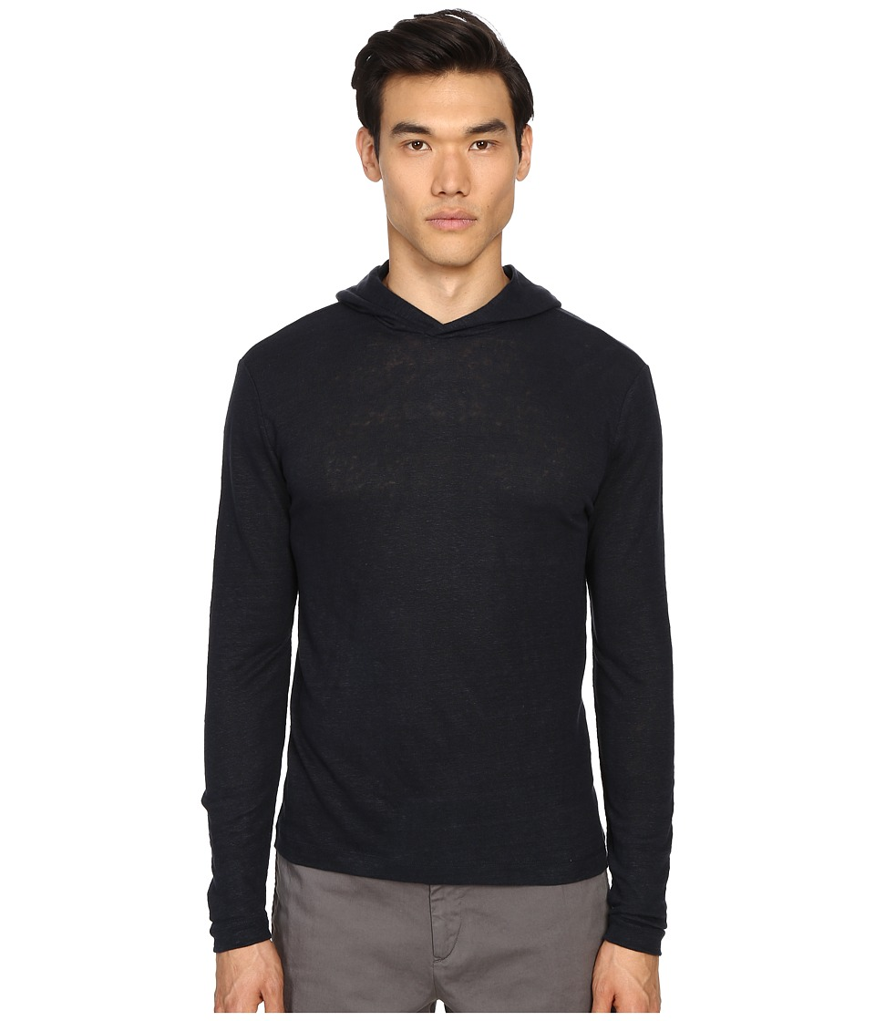Theory - Colton.Zephyr Wash Hoodie (Eclipse) Men