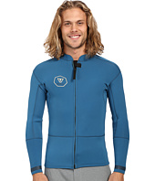 VISSLA - Front Zip Jacket Long Sleeve 2mm Neoprene Super Stretch