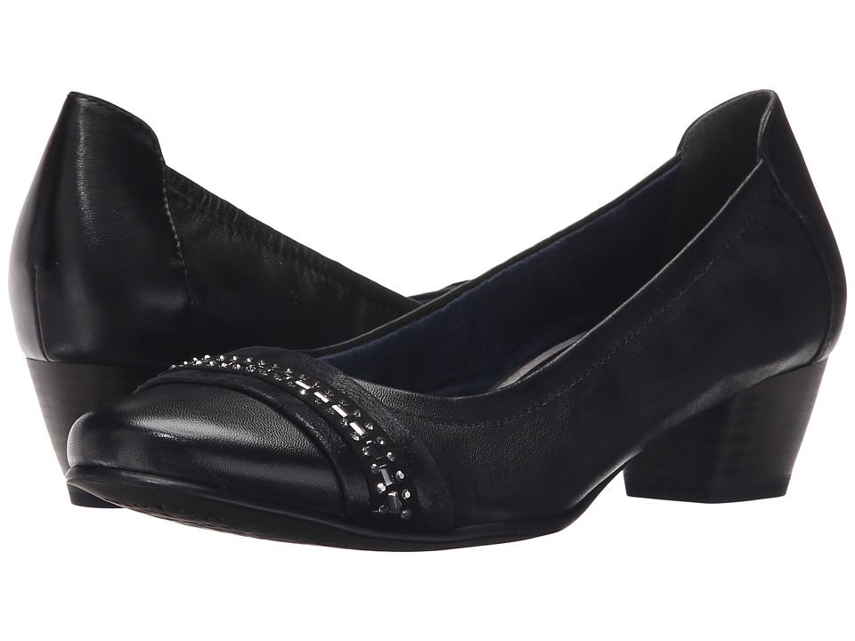 Tamaris Anisa 22303 26 Black Womens 1 2 inch heel Shoes