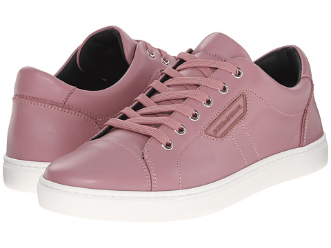 Dolce & Gabbana Leather Stitched Sneakers