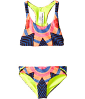 Mara Hoffman Kids - Starbasket Printed Racerback Bikini Top with Boardshorts Bottoms (Toddler/Little Kids/Big Kids)