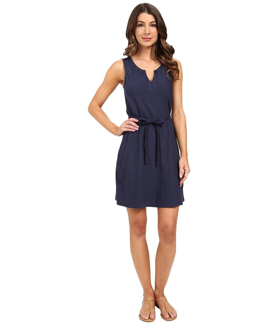 Tommy Bahama Arden Jersey A Line Short Dress Ocean Deep Womens Dress