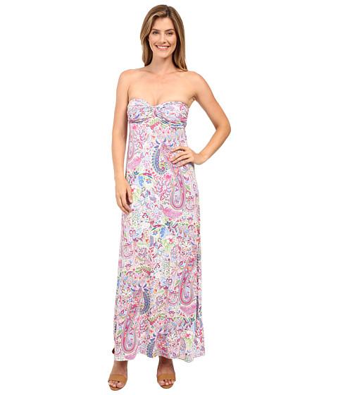 Tommy Bahama Palais Paisley Strapless Dress