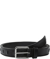 The Kooples - Metal and Smooth Leather Belt