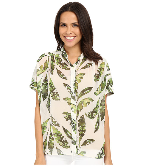 Tommy Bahama Silk Blouse 4 10