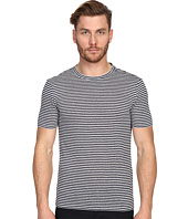 The Kooples - Sport Striped Linen Jersey Tee Shirt