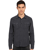 The Kooples - Double Face Checks Denim Shirt