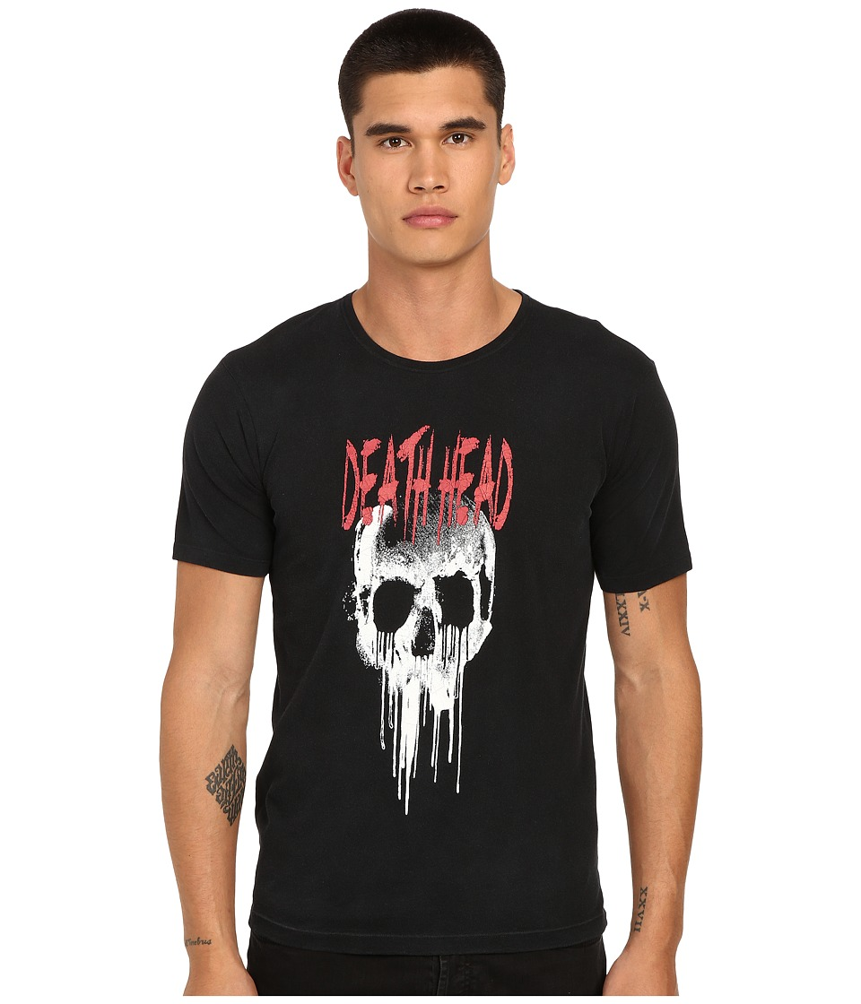 The Kooples Printed Rugby Jersey Tee Shirt Black Mens T Shirt