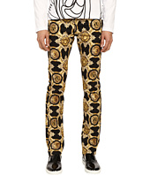 Versace Jeans - Baroque Medallion Print Slim Fit Pants