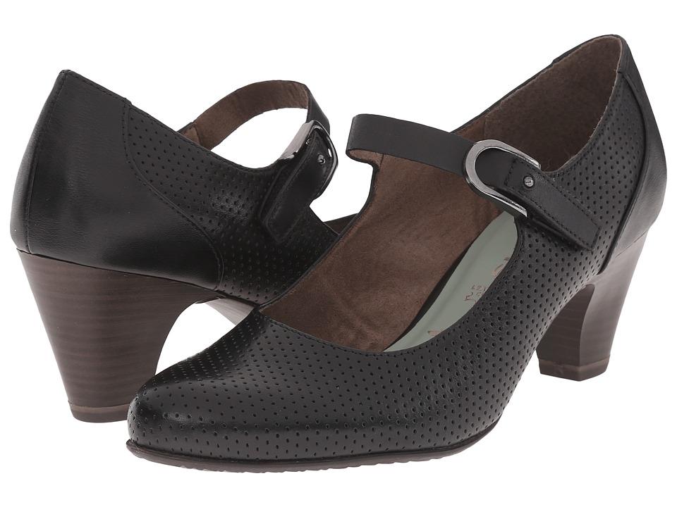 Tamaris - Kapok 24405-26 Black Uni Womens Shoes $110.00 AT vintagedancer.com