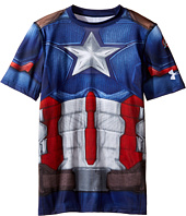 Under Armour Kids - Captain America Suit Short Sleeve (Big Kids)