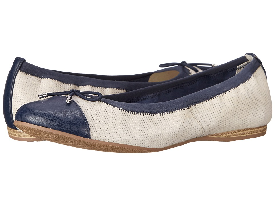 Tamaris Alena 22129 26 Off White Punch/Navy Womens Shoes