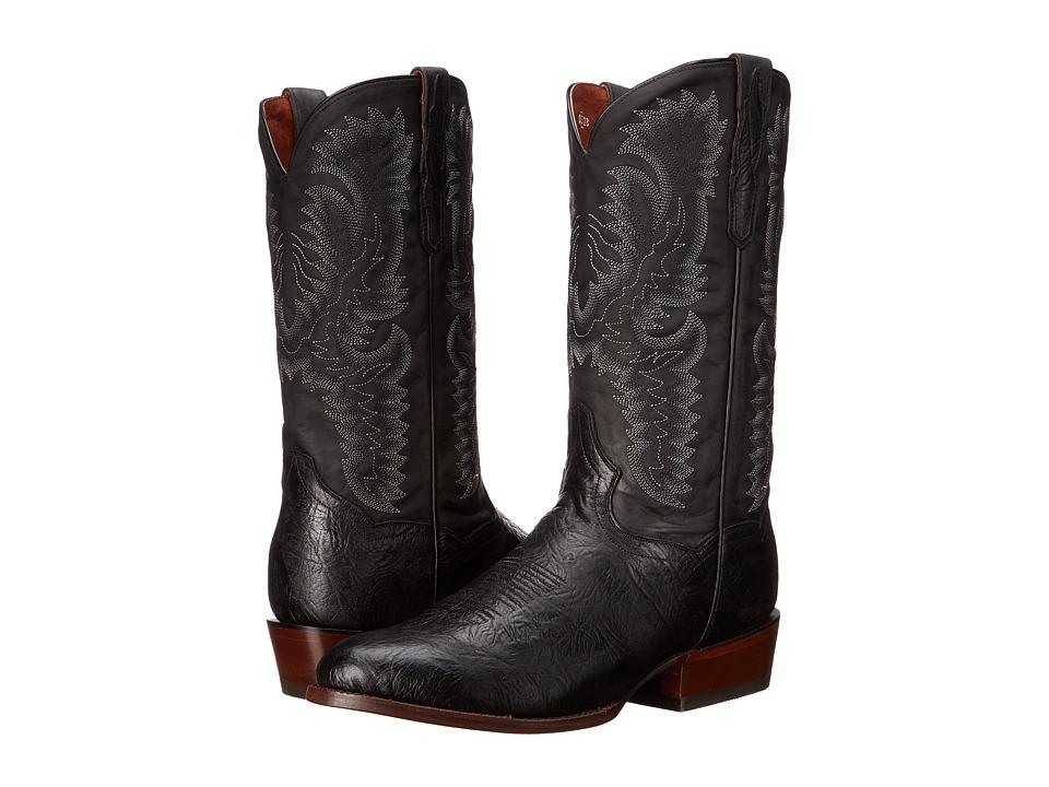 Dan Post High Plains (Black) Cowboy Boots