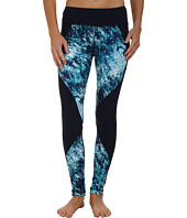 Pink Lotus - Midnight Metro Midnight Run Print Block Leggings