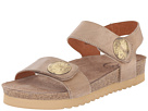 Taos Footwear - Luckie (Taupe Waxed Leather)