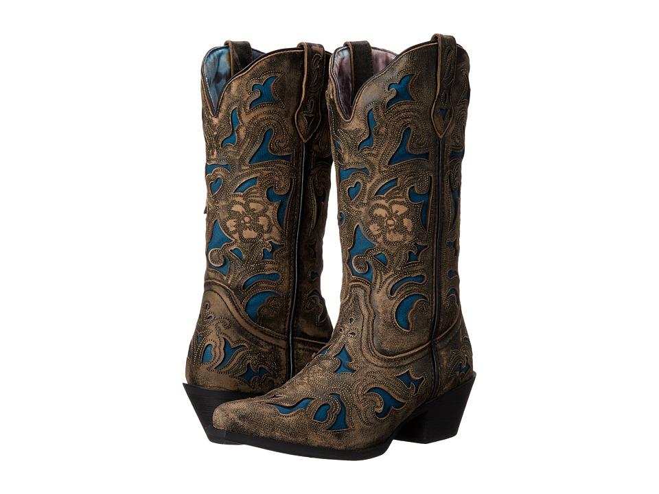 Laredo Sharona (Charcoal) Cowboy Boots