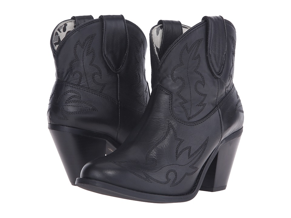 Dingo Billie Black Cowboy Boots