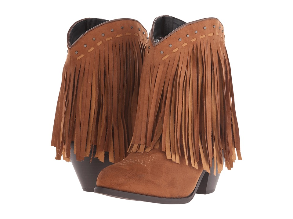 Dingo Hypnotic Brown Cowboy Boots