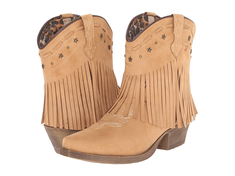 Dingo - Cassidy (Brown) Cowboy Boots