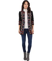Brigitte Bailey - Carmella Embroidered 3/4 Sleeve Long Jacket