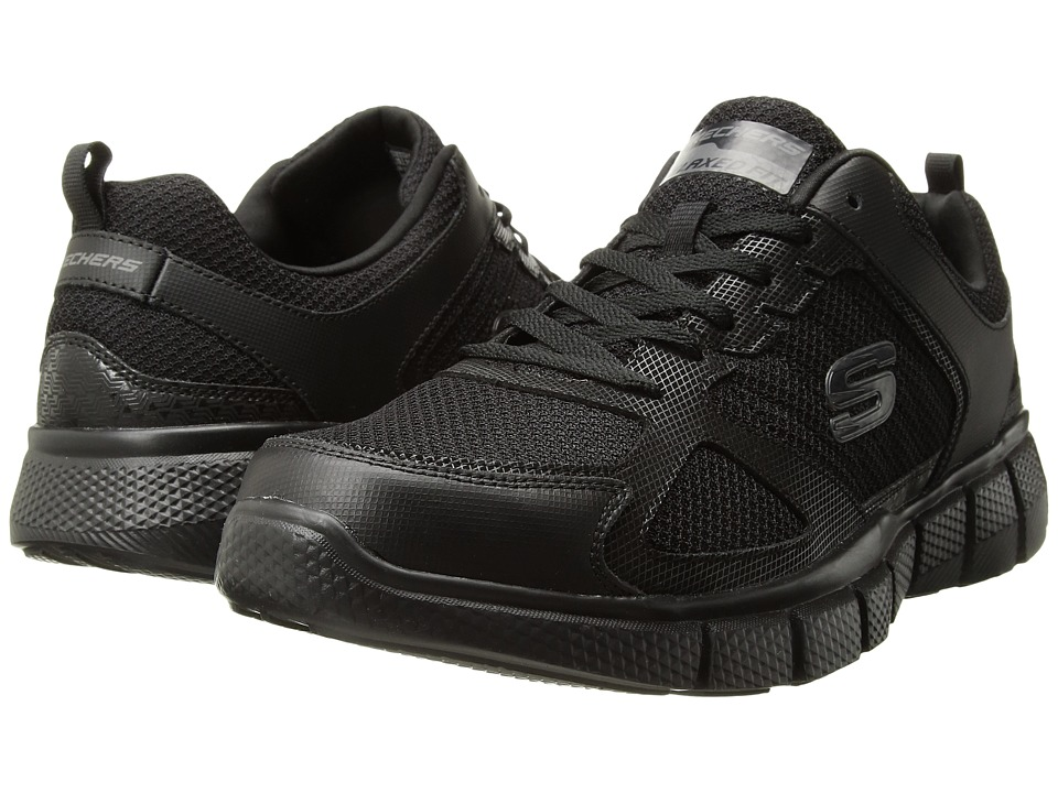 Skechers Equalizer 2.0 On Track (Black) Men's  Shoes