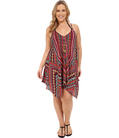 BECCA by Rebecca Virtue - Plus Size Becca ETC Caravan Dress Cover-Up