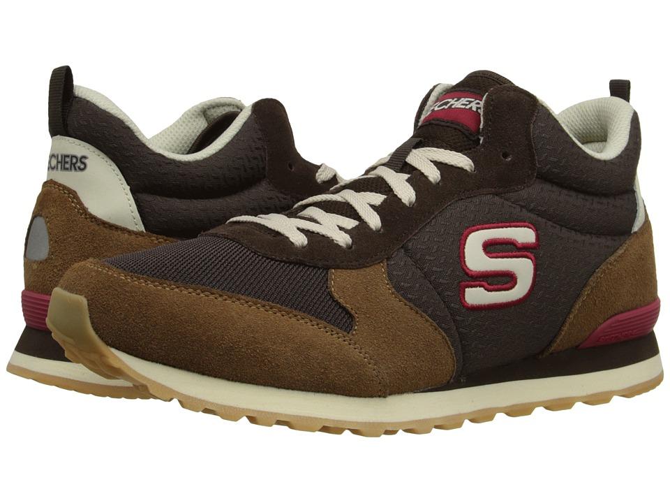 SKECHERS - OG 85 (Brown/Chestnut) Mens  Shoes