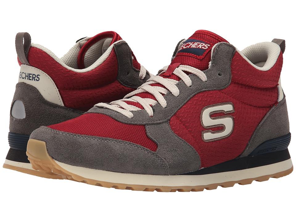 SKECHERS - OG 85 (Charcoal/Red) Men