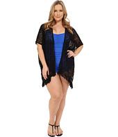 BECCA by Rebecca Virtue - Plus Size Becca ETC Venise Kimono Cover-Up
