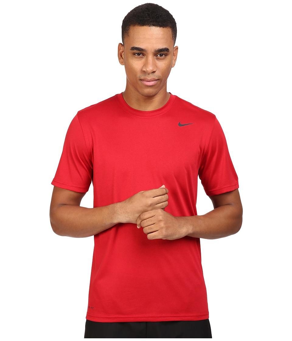 Nike Legend 2.0 Short Sleeve Tee (Gym Red/Black/Black) Men