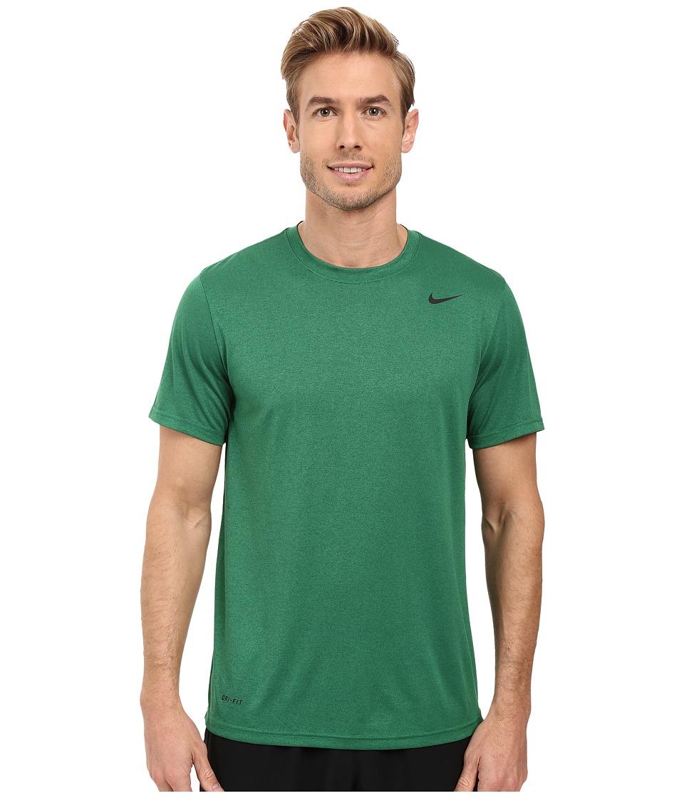 Nike - Legend 2.0 Short Sleeve Tee (Pine Green/Black/Black) Men