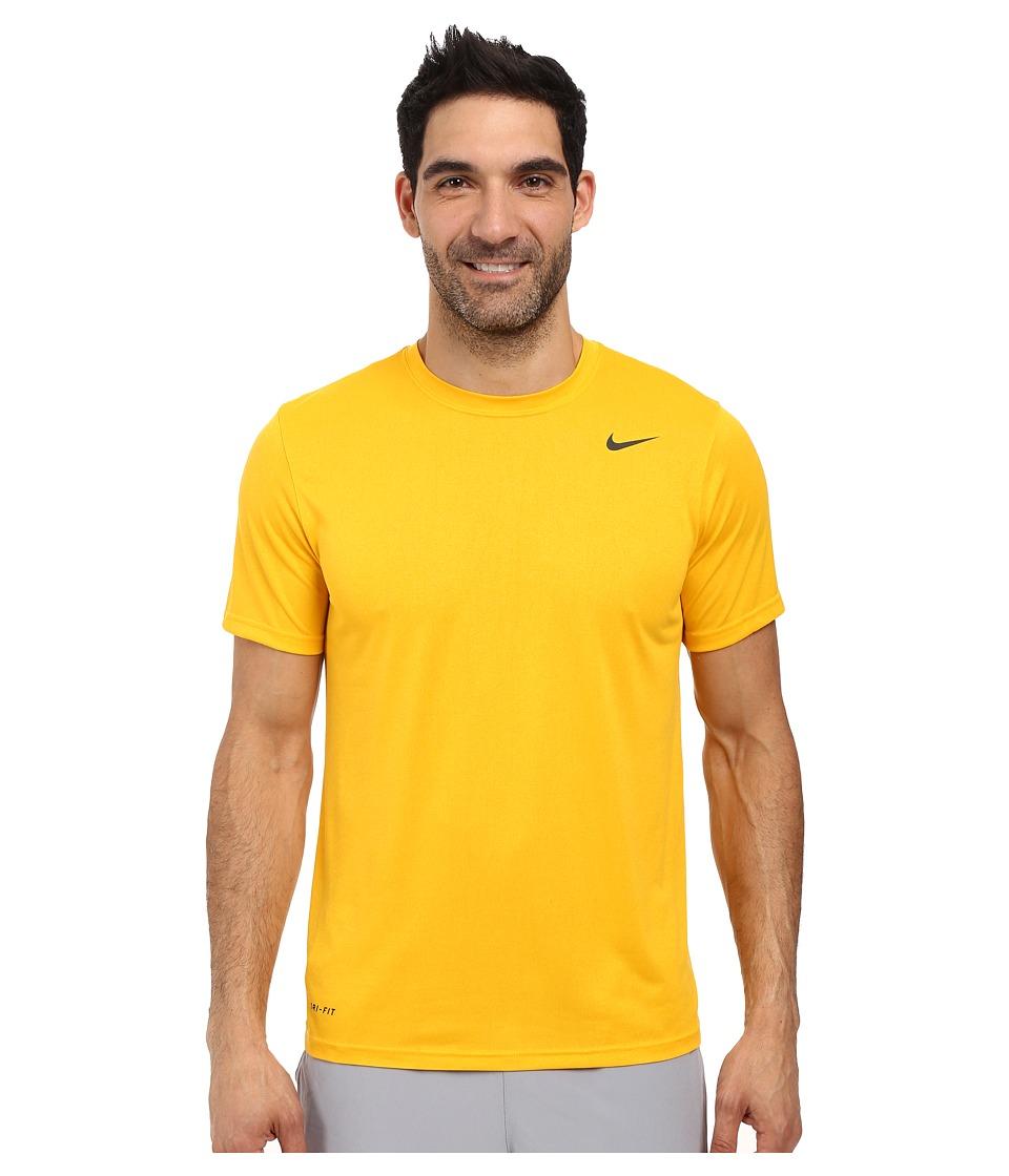 Nike - Legend 2.0 Short Sleeve Tee (University Gold/Black/Black) Men