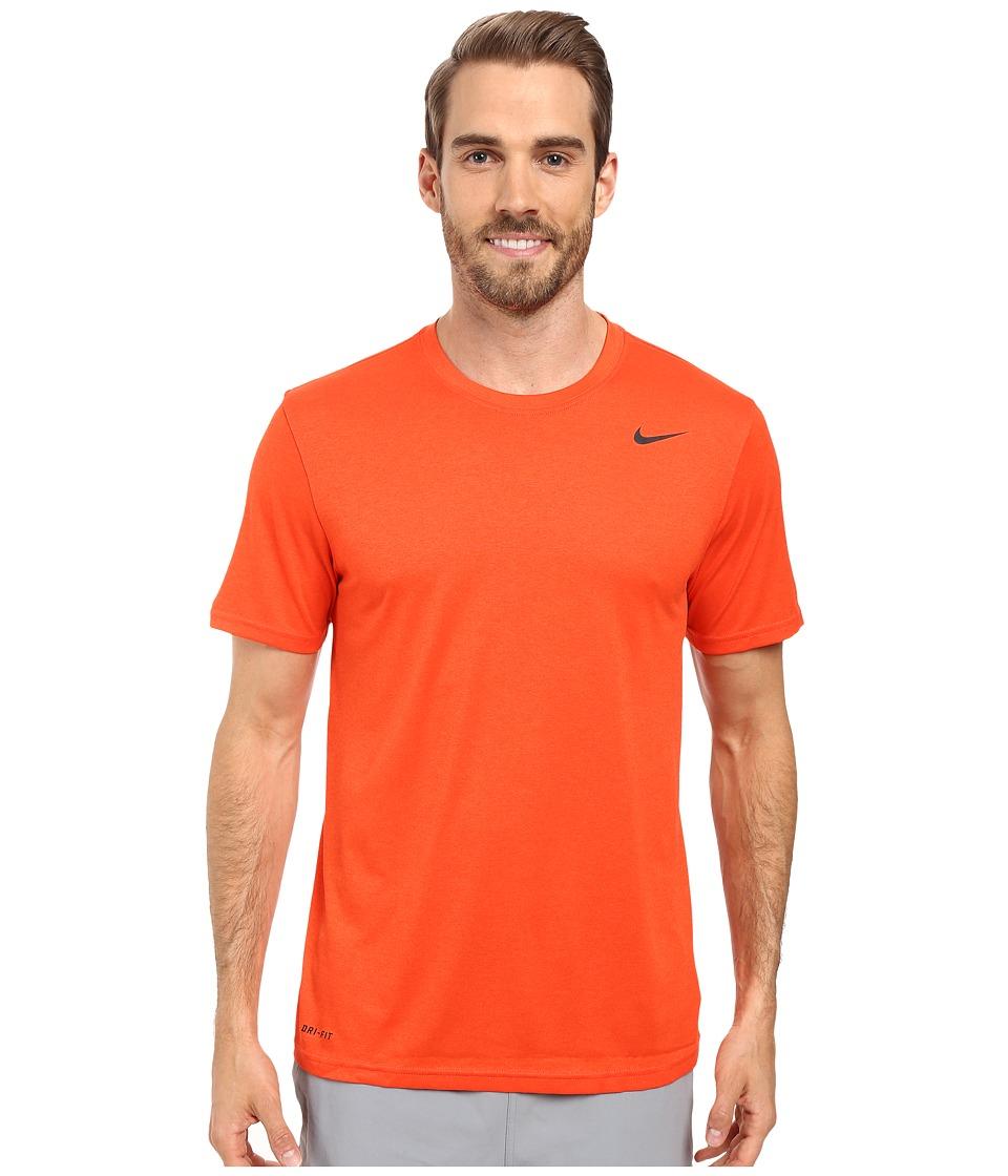 Nike - Legend 2.0 Short Sleeve Tee (Team Orange/Black/Black) Men