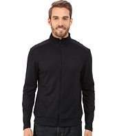 Kenneth Cole Sportswear - Long Sleeve Full Zip Mock