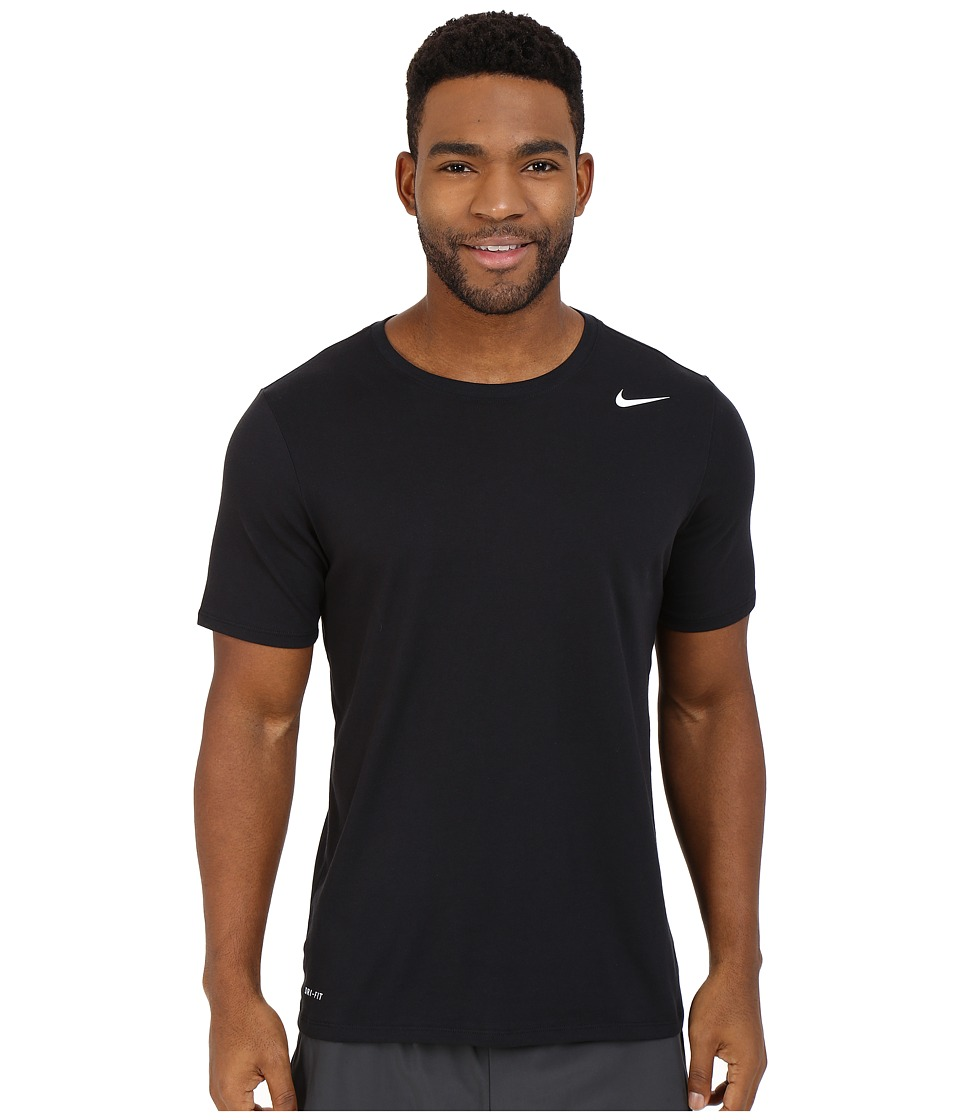 Nike Dri-FITtm Version 2.0 T-Shirt (Black/Black/White) Men