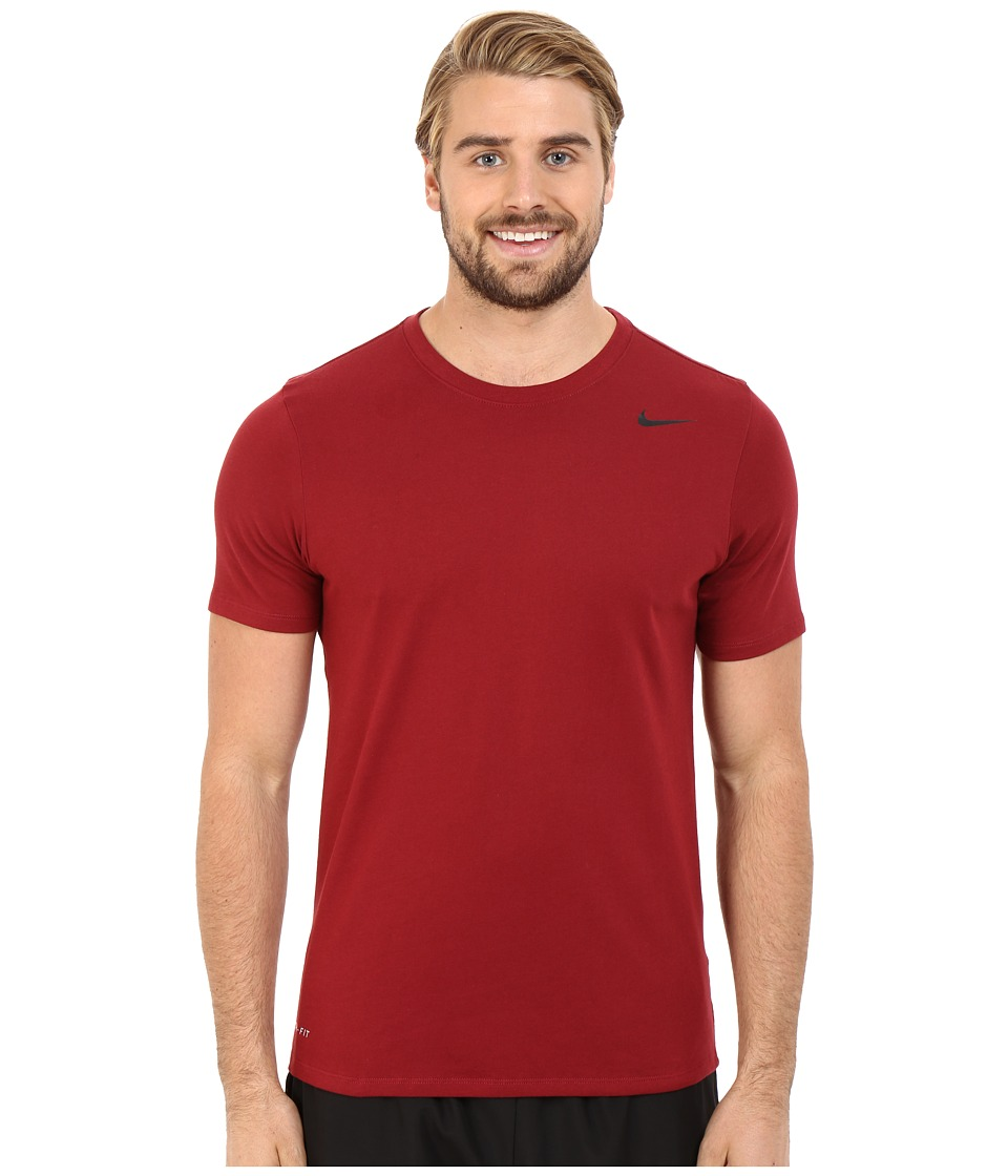 Nike Dri-FITtm Version 2.0 T-Shirt (Team Red/Team Red/Black) Men