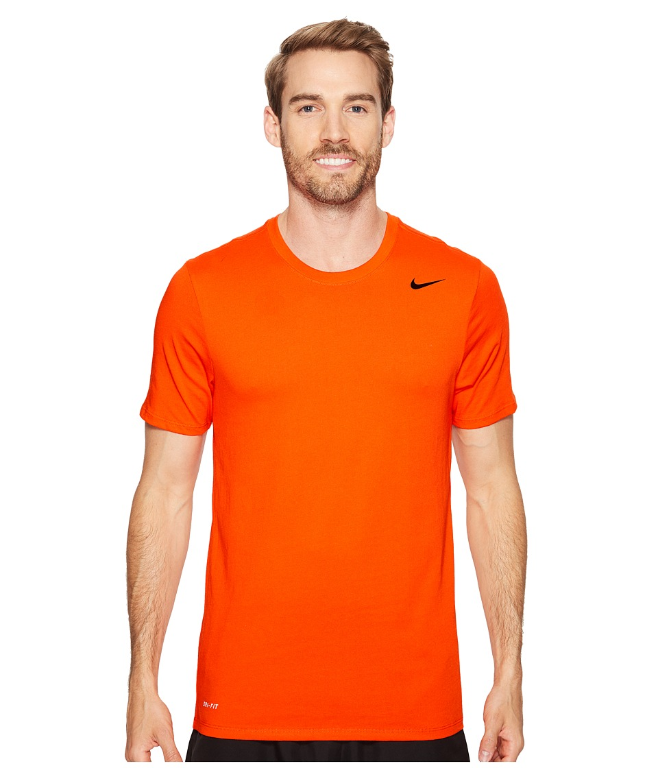 Nike Dri-FITtm Version 2.0 T-Shirt (Team Orange/Team Orange/Black) Men