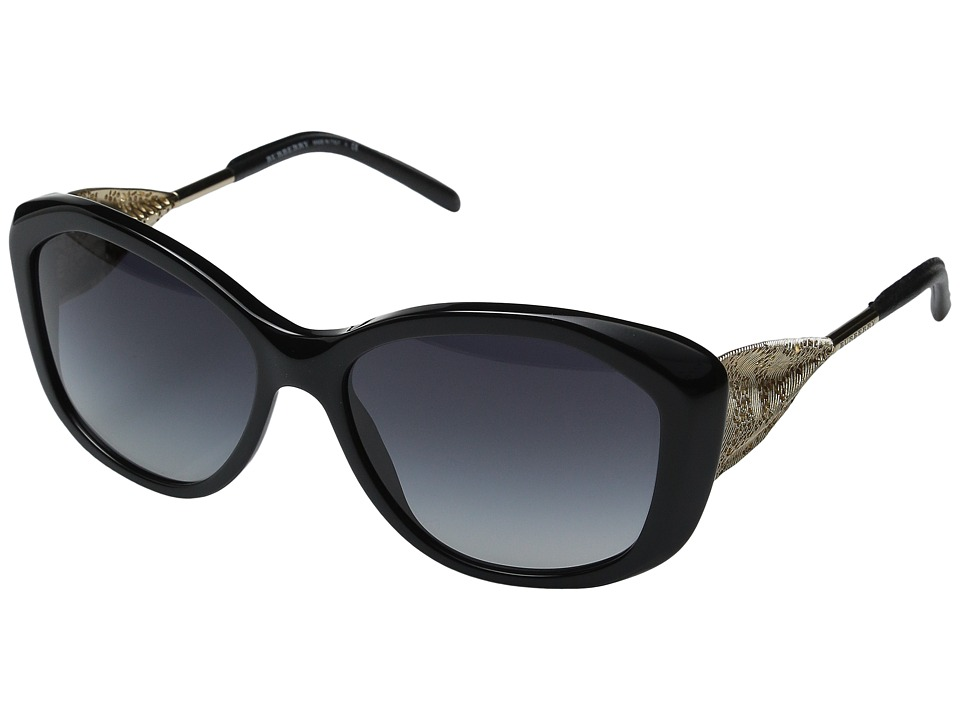 Burberry 0BE4208Q Black/Gold/Gradient Grey Fashion Sunglasses