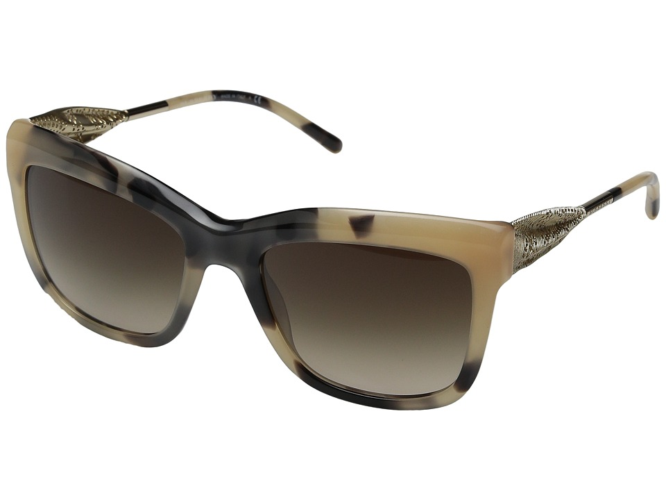 Burberry 0BE4207 Light Horn/Gold/Gradient Brown Fashion Sunglasses