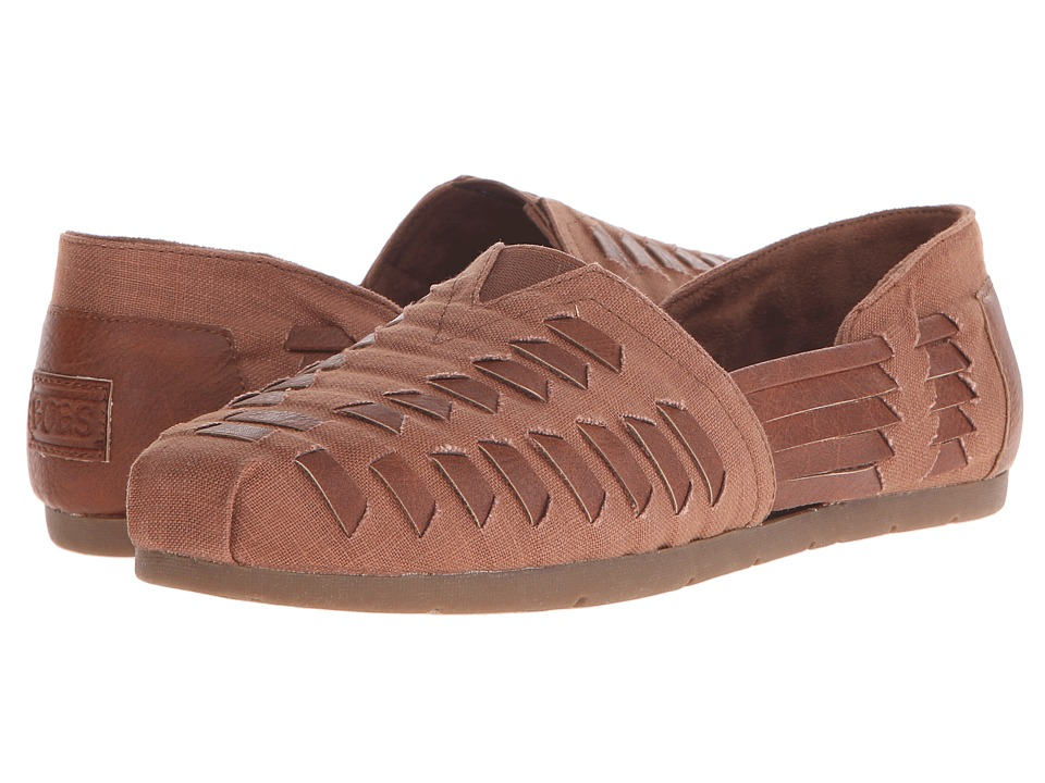 BOBS from SKECHERS Luxe Bobs (Brown) Women