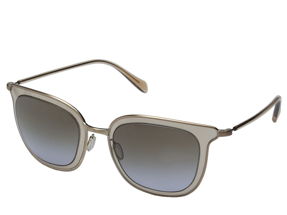 Oliver Peoples Annetta Brushed Rose Gold/Rose/Taupe Rose Gradient Fashion Sunglasses