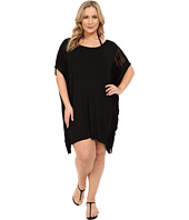 BECCA by Rebecca Virtue - Plus Size Becca ETC Twist & Turns Dress Cover-Up