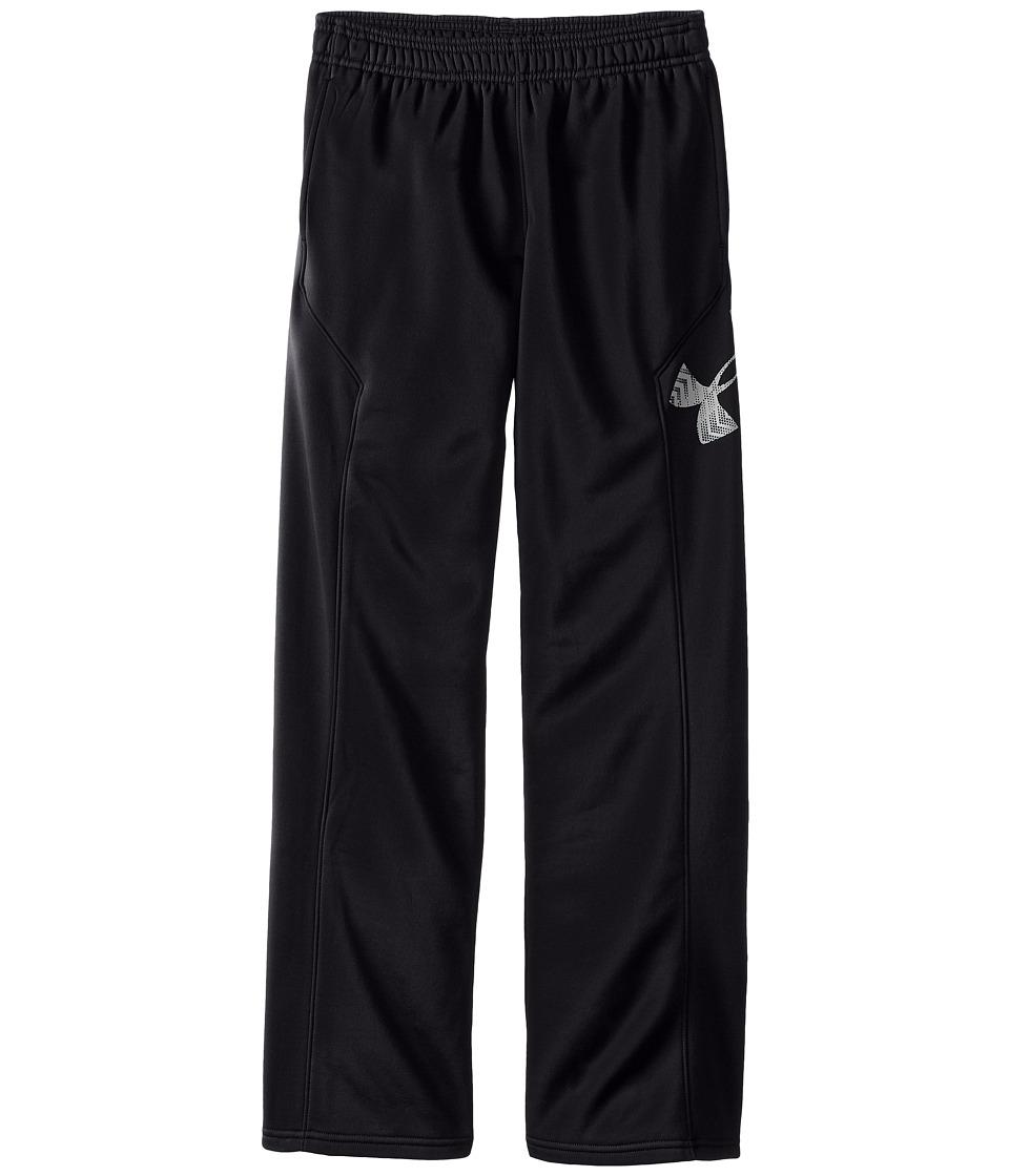 Under Armour Kids - Storm Armour(r) Fleece Big Logo Pants (Big Kids) (Black) Boys Casual Pants