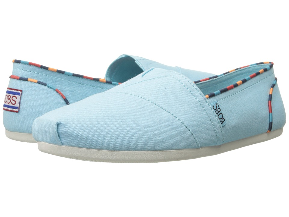 BOBS from SKECHERS Bobs Plush Aqua Womens Slip on Shoes