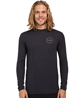 VISSLA - Alltime Long Sleeve Heathered Surf Tee UPF 50