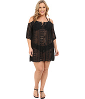 BECCA by Rebecca Virtue - Plus Size Becca ETC La Boheme Tunic Cover-Up